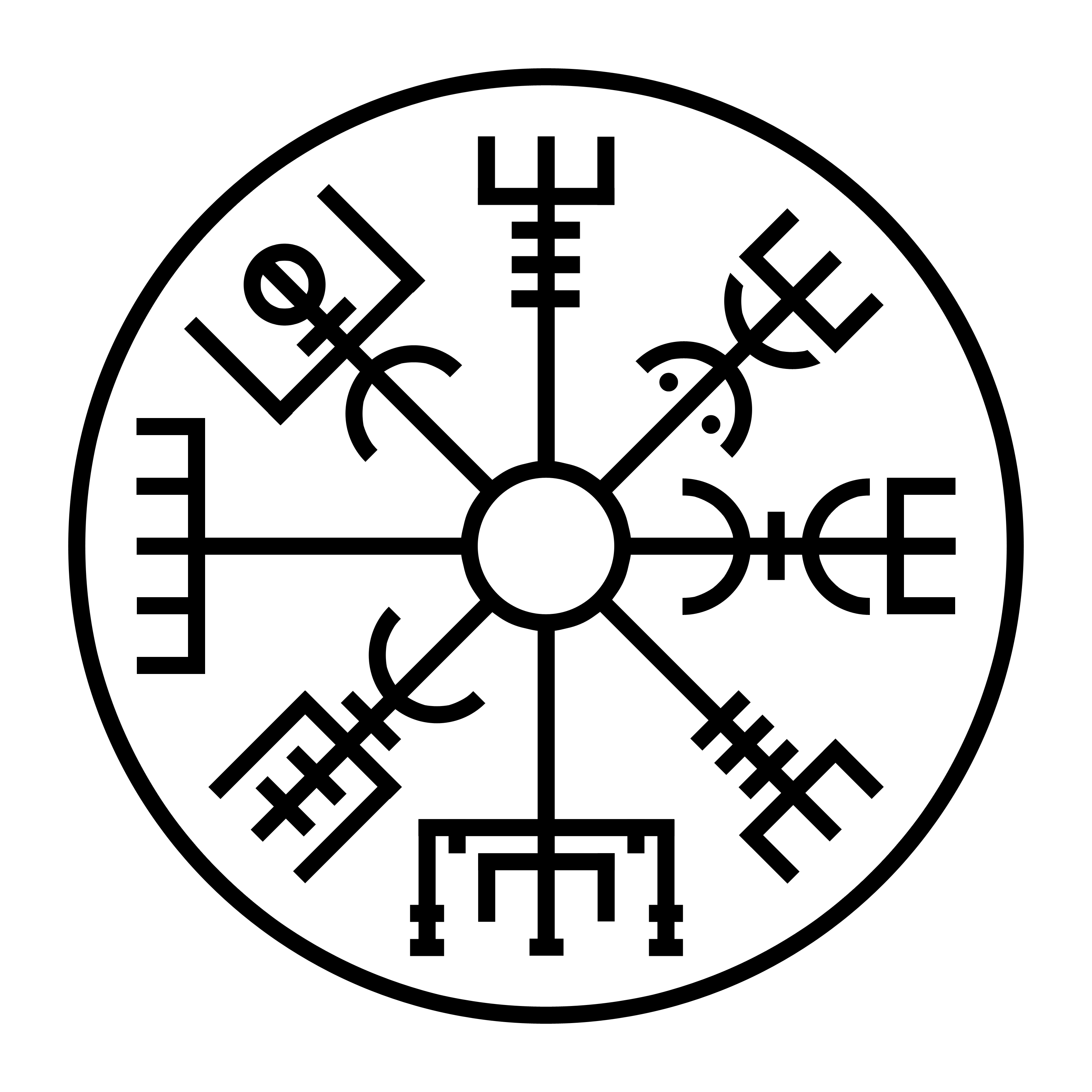 vegvisir il compasso runico il terzo orecchio. Black Bedroom Furniture Sets. Home Design Ideas