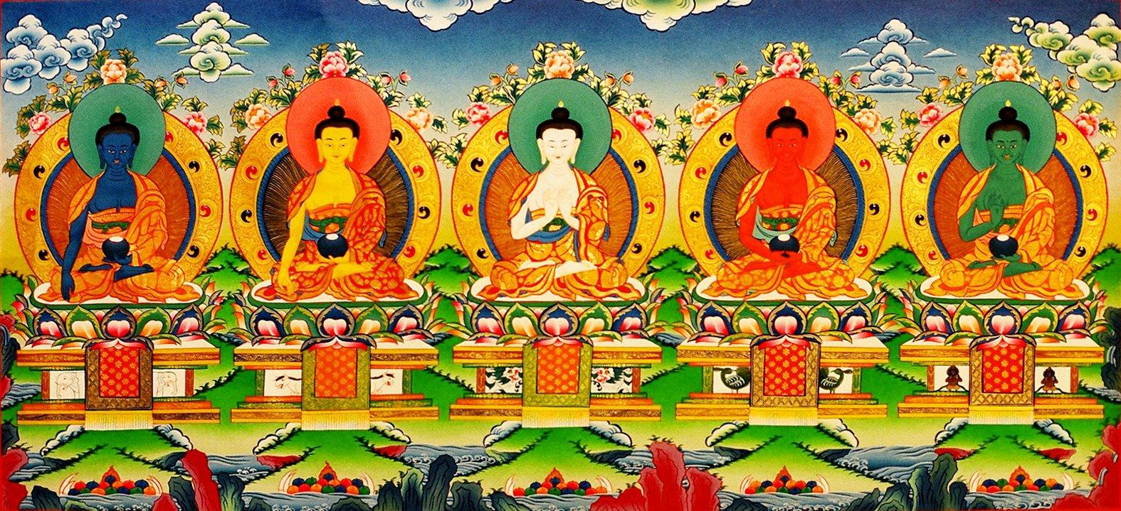 Il simbolismo dei colori nell arte buddhista il terzo - Immagine del mouse a colori ...