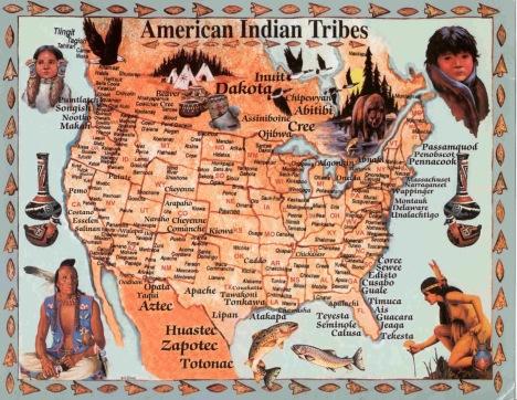 mappa indiani