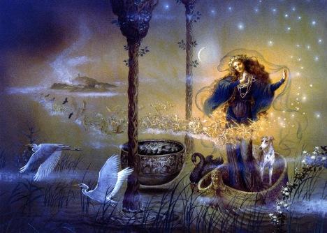 kinuko craft_fantasy art_priestess of avalon