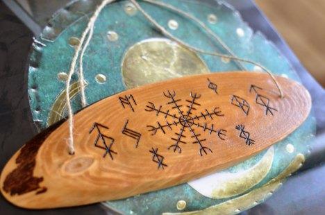 Talisman for Home Viking Rune